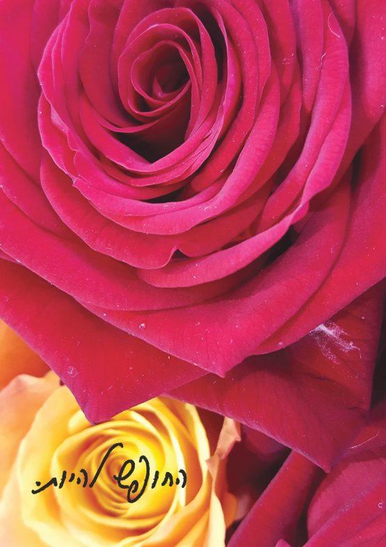 מחברת פרחים